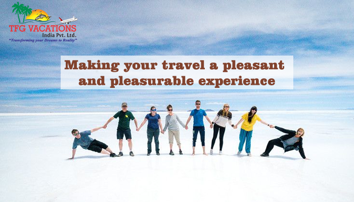 TFG INDIA PVT LTD - Making your travel a pleasant and pleasurable experience
